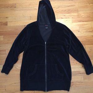 Torrid velour hoodie